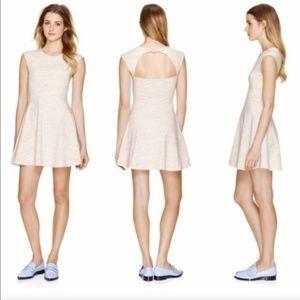 ARITZIA TALULA Pastel Pink Palmette Dress, XXS